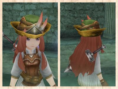 狩人の帽子