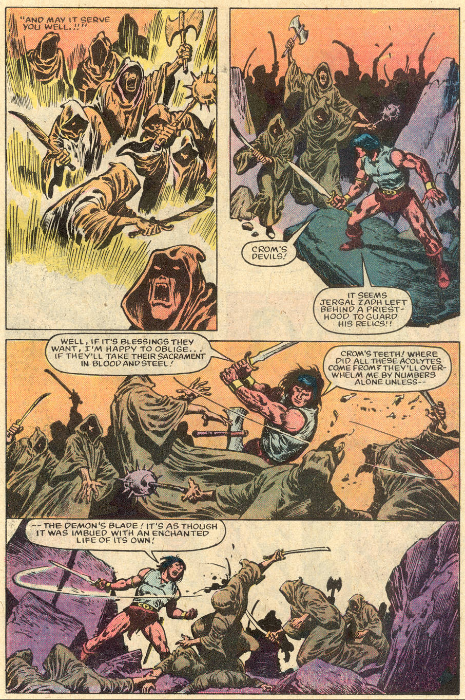 Conan the Barbarian (1970) Issue #152 #164 - English 9