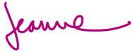 Jeanne Chung signature, Cozy•Stylish•Chic