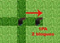 Minecraft el juego de miniaturas de papel iii movimiento