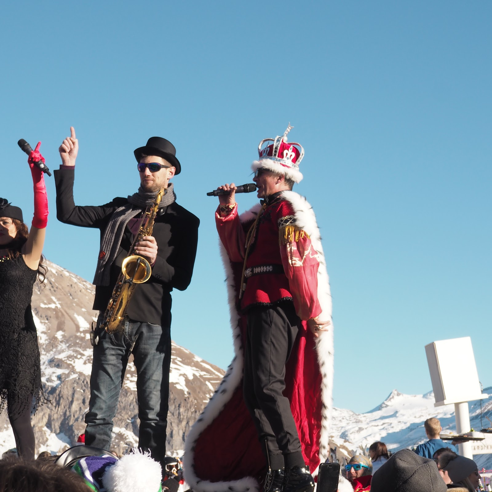 Kelly Starlight, La Folie Douce, Val d'Isere, France