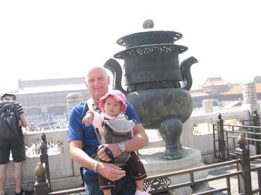 Maman et papa en visite en Chine