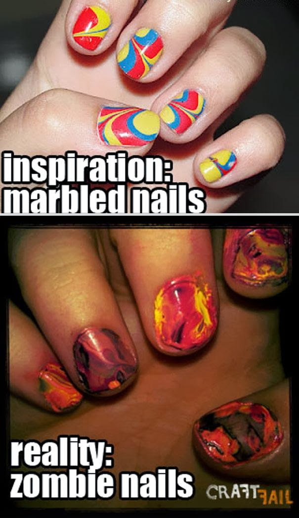 Ногти накрасила