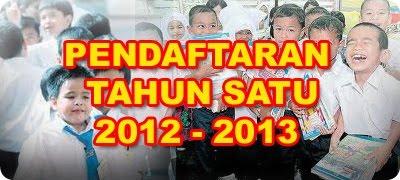 PENDAFTARAN TAHUN 1 2013-2014