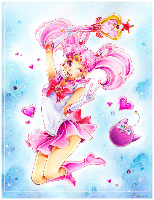 Sailor Chibi Moon por Naschi