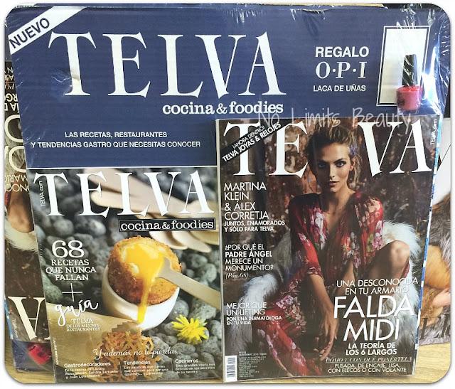 Regalos Revistas Noviembre 2015 - Telva
