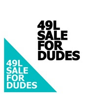 49L sale for dudes