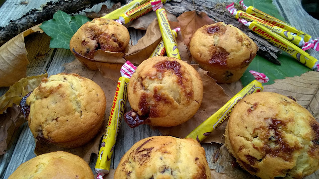Muffins Carambar-chocolat