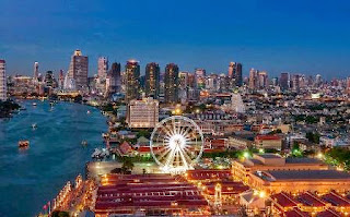 Bangkok, Asiatique, Chao Phraya River
