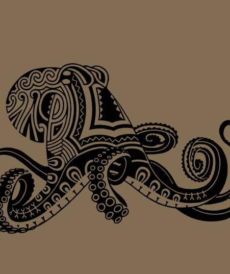 Octopus Tattoo Designs
