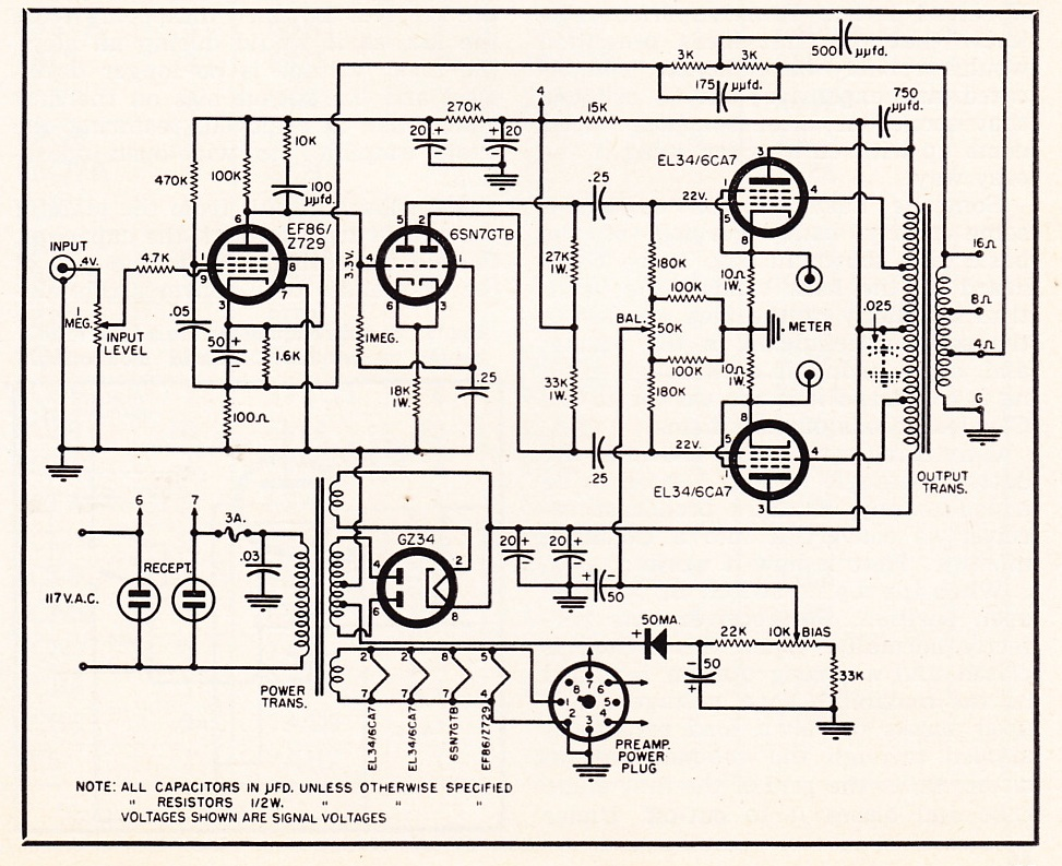 Tone Control Guitar Pedal Schematics also 12au7  lifier Schematics moreover 8877  lifier Schematic Diagram furthermore Kenwood 4 Channel Car   Wiring Diagrams likewise 1 Watt  lifier Schematic. on tube and transistor lifier schematics