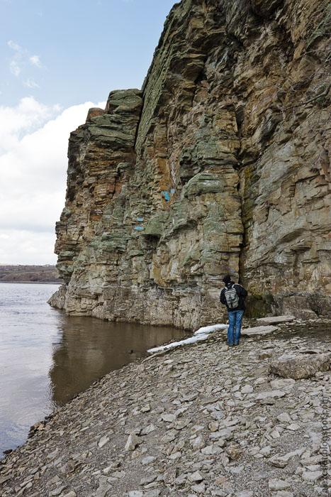 Кутовские скалы возле станицы Краснодонецкой