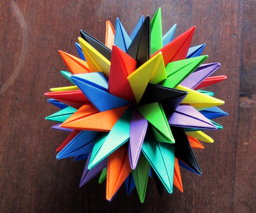Origami modular paso a paso imagui - Origami de una estrella ...