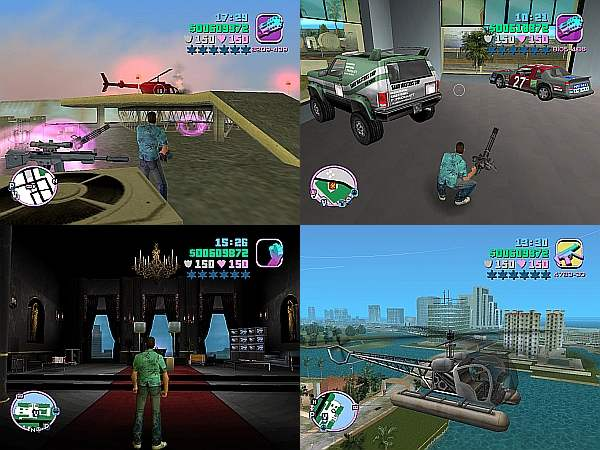Grand theft Auto Vice City Screenshots 2