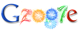 New Year 2007 Google Doodle