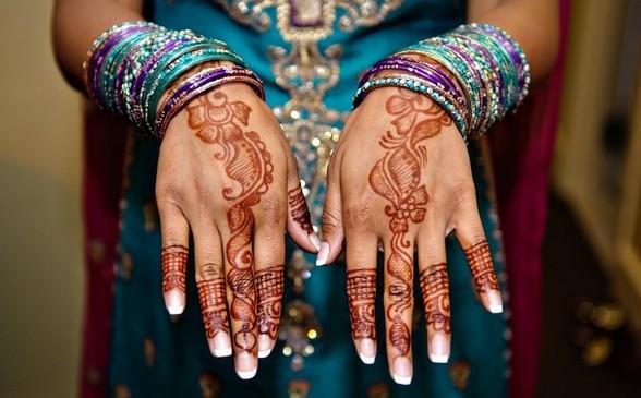 Mehndi Henna Clothes : Fashion style girls lifestyles clothes mehndi