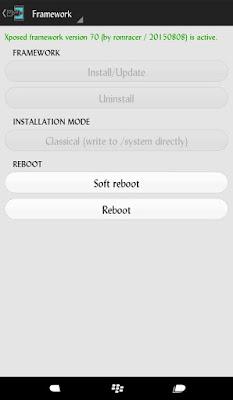 Xposed Framework Xiaomi Mi4i