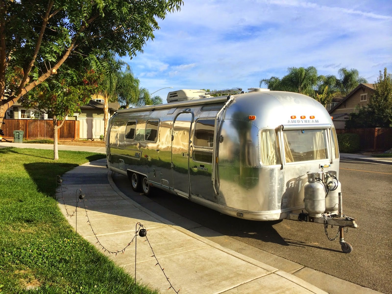 Meet Annie the Airstream, shared by The Adventures of Jolly & Happy