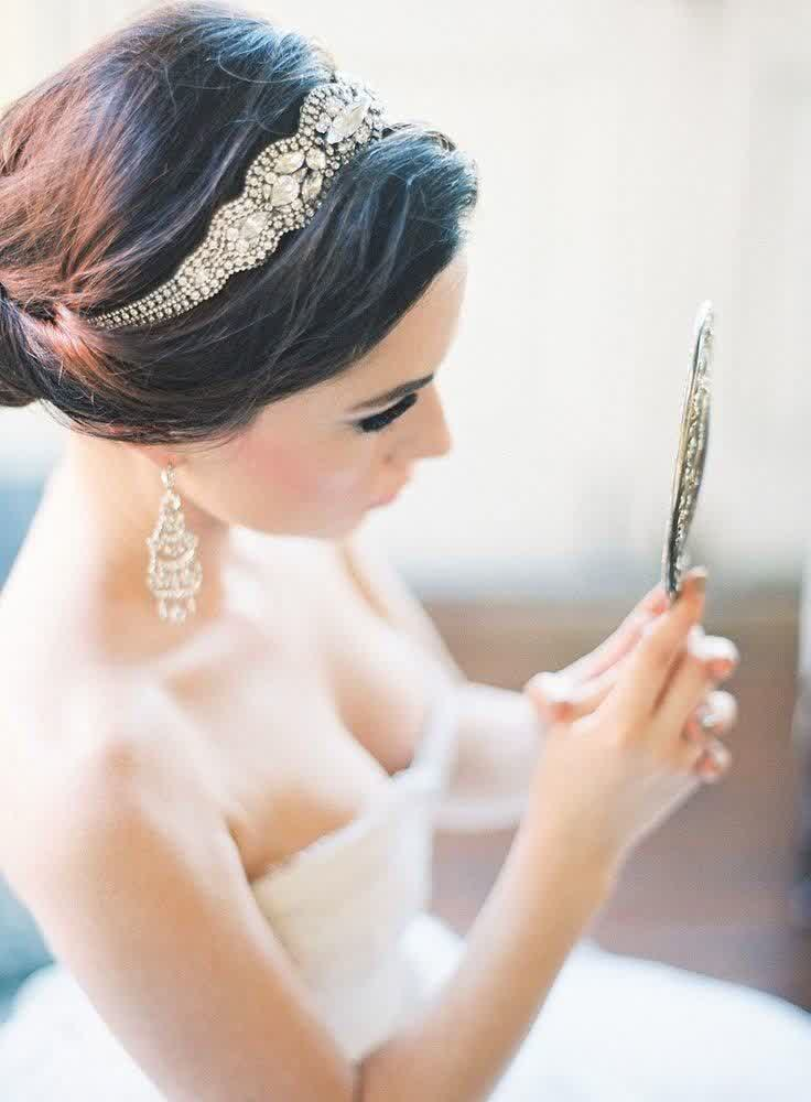 Most Chosen Bridal Hairstyles + Headpieces   bridal wedding ideas
