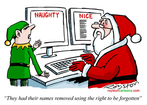 Image result for santa's long list of naughty