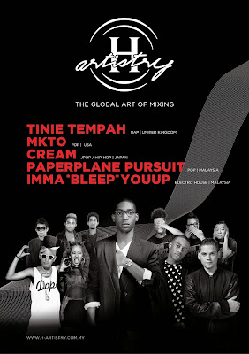 H-Artistry 2014 Malaysia finale Global Art of Mixing poster