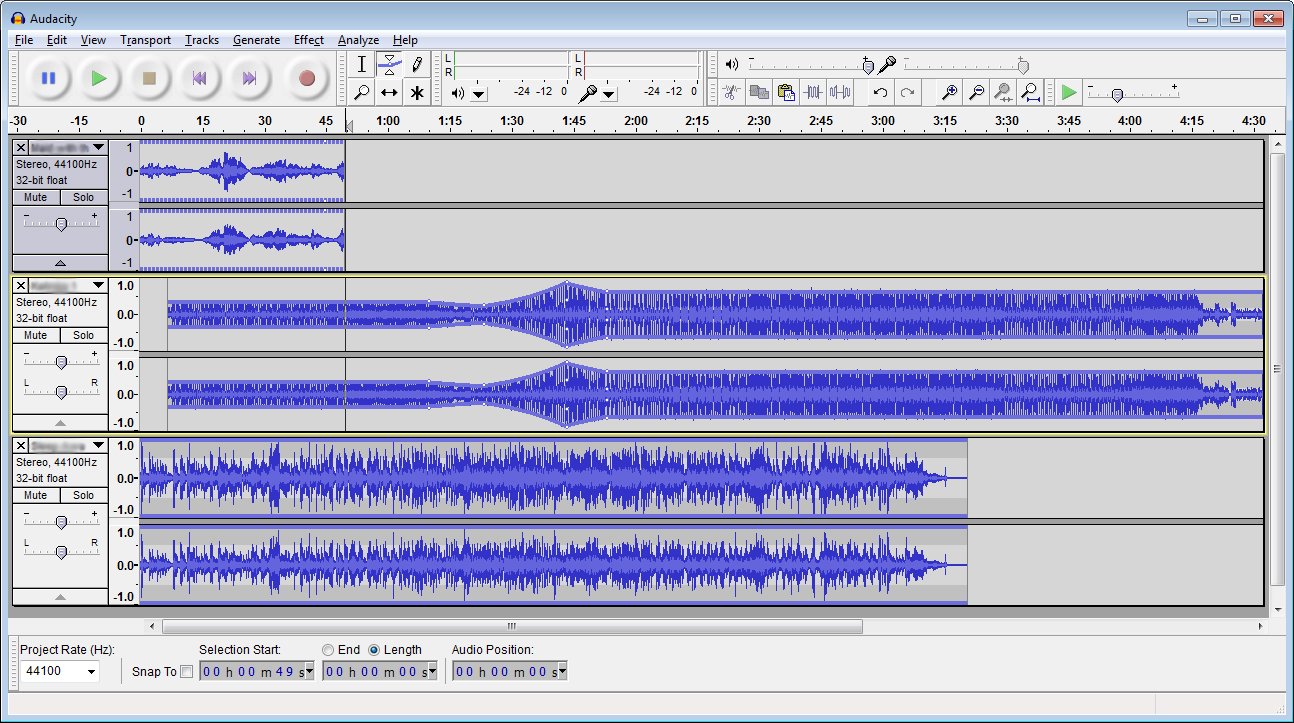 Stereo Thesis Music Gallery Practice Editing Your Music