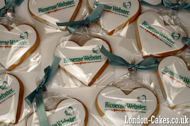 business logo cookies in london