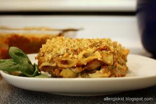 The Allergic Kid: Eggplant Pasta Bake