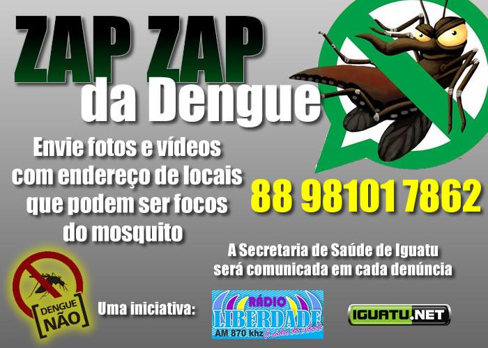 ZapZap da Dengue em Iguatu