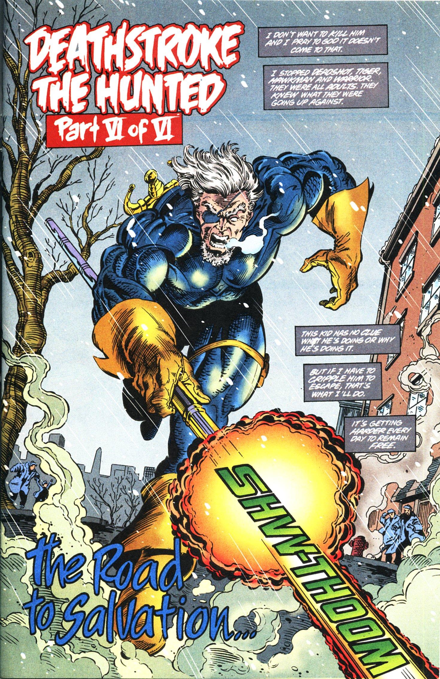 Deathstroke (1991) Issue #45 #50 - English 2