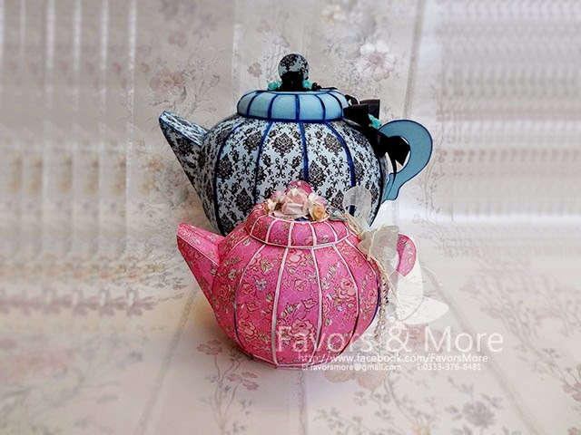 Mama Tea Pot and Little Miss Tea Pot