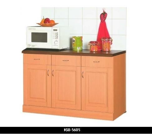 Products kitchen set ksb 5605 for Harga kitchen set olympic