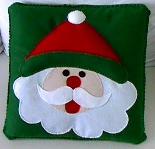 Almofadas de Natal  - Ponto Atrás