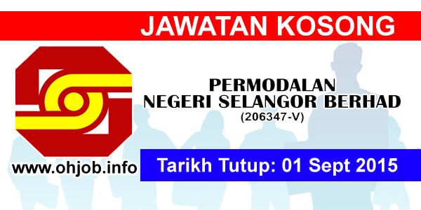 Jawatan Kerja Kosong Permodalan Negeri Selangor Berhad (PNSB) logo www.ohjob.info september 2015