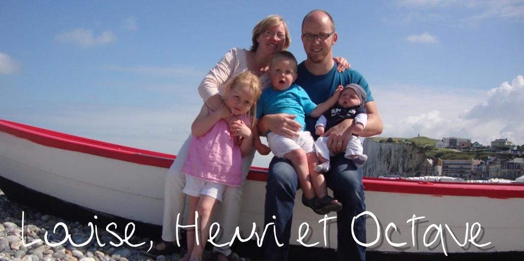 Louise, Henri et Octave