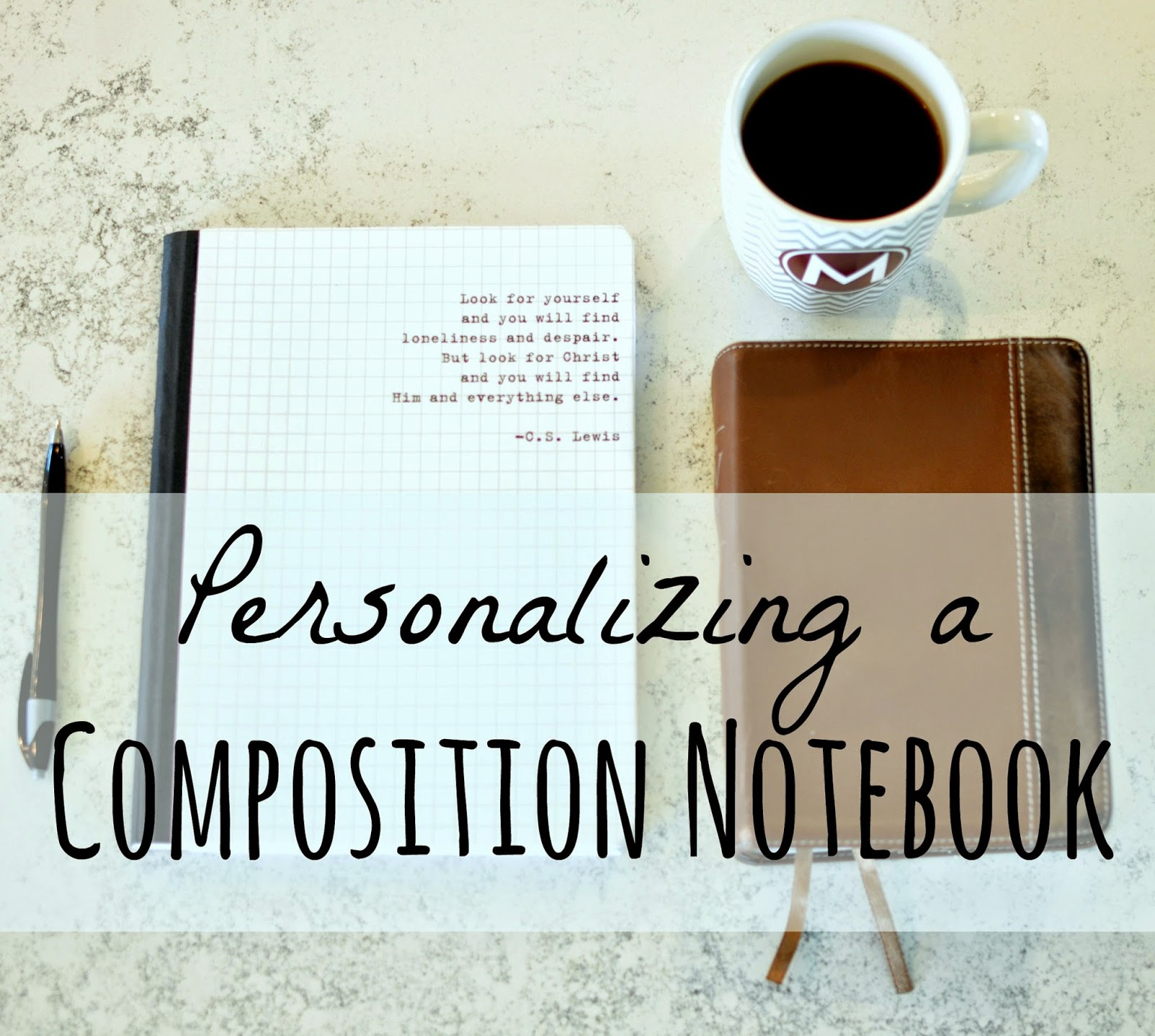 A Nurse And A Nerd: Personalize your Composition Notebook