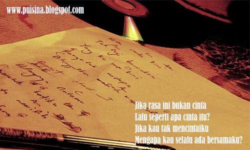 "Puisi Pacar""Cinta Datang Tak Perlu Permisi"""