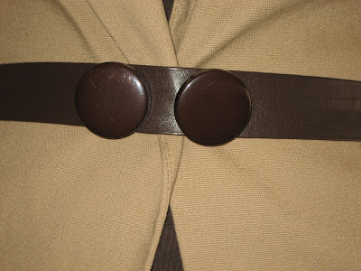 Detalle cinturón hecho a mano / handmade belt / ceinture fait à la main