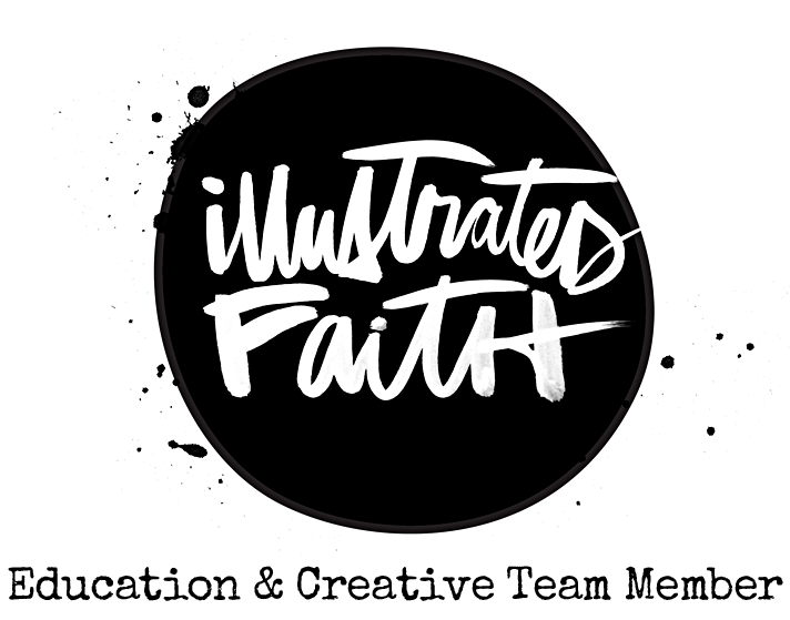an announcement about my new adventure with Illustrated Faith as a education and creative team member