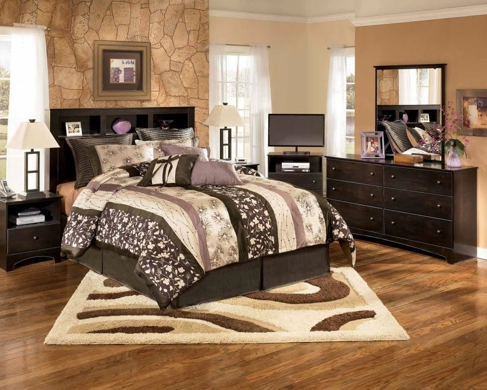 Master bedroom designs in brown colors 15 design for Master bed furniture