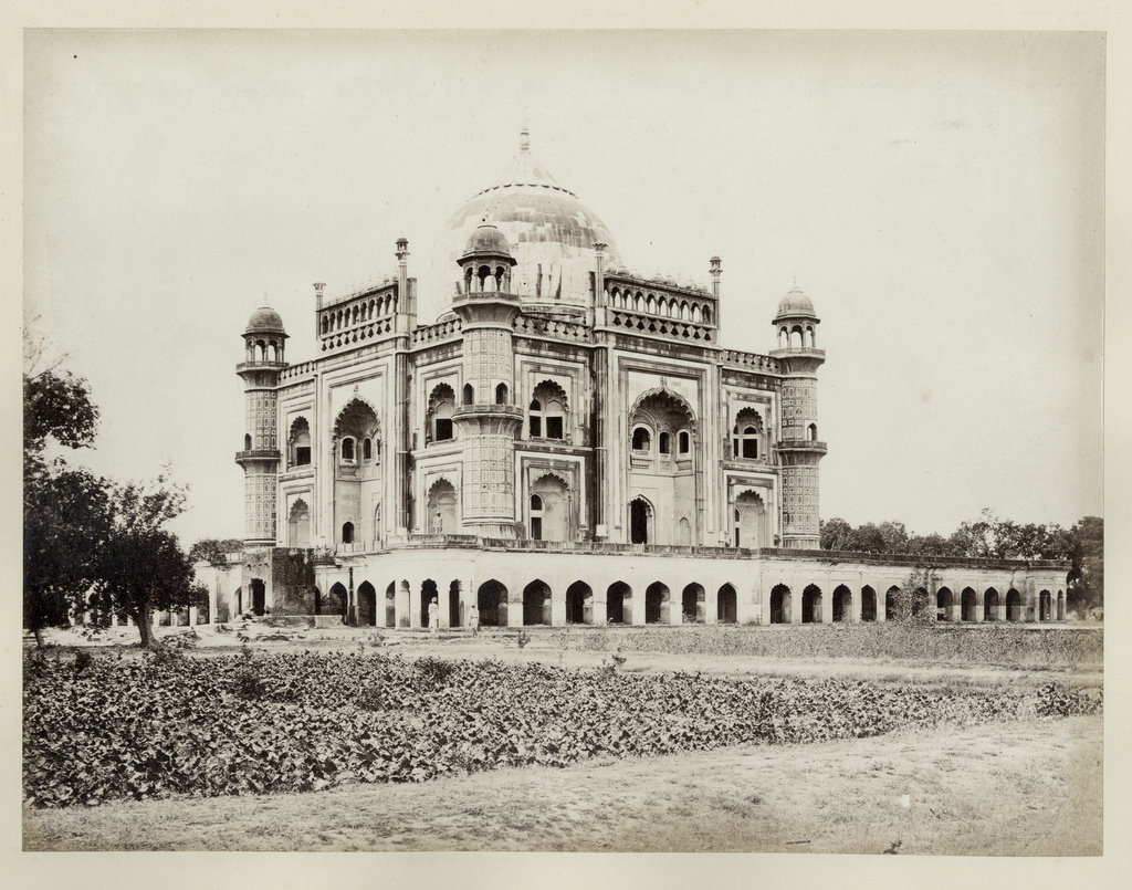 Tomb of Safdarjung - Delhi 1860's - Old Indian Photos