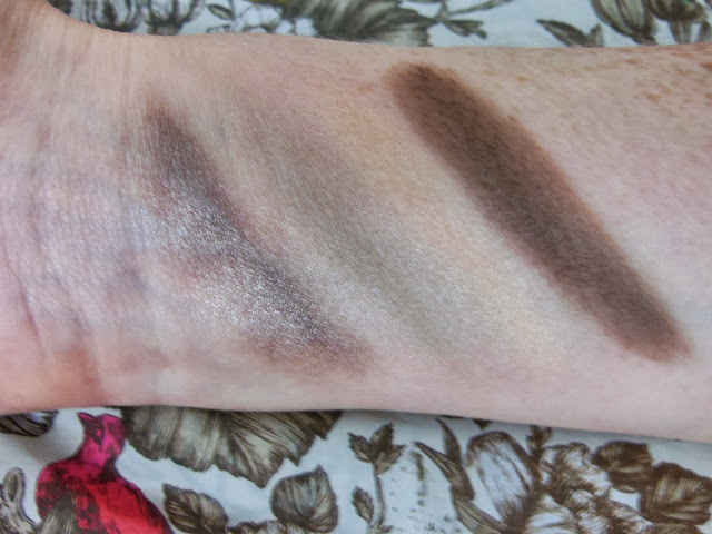 Bare Minerals power neutrals palette swatches