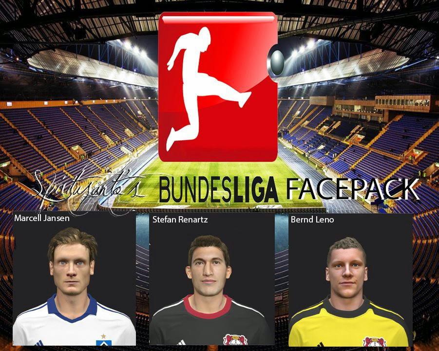PES 2014 MiniFacepack Bundesliga by spiritusanto
