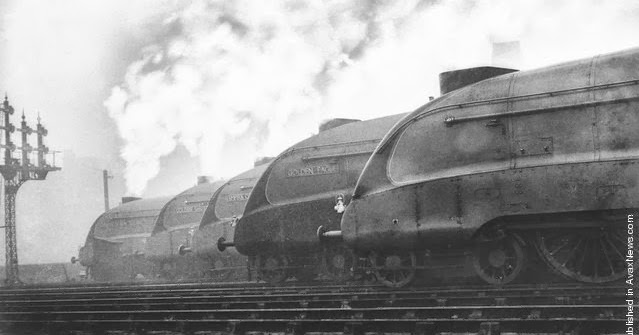 Black & White Photographs of Transport in the Past