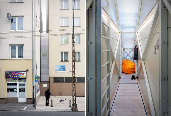 Worlds Thinnest House - Keret House