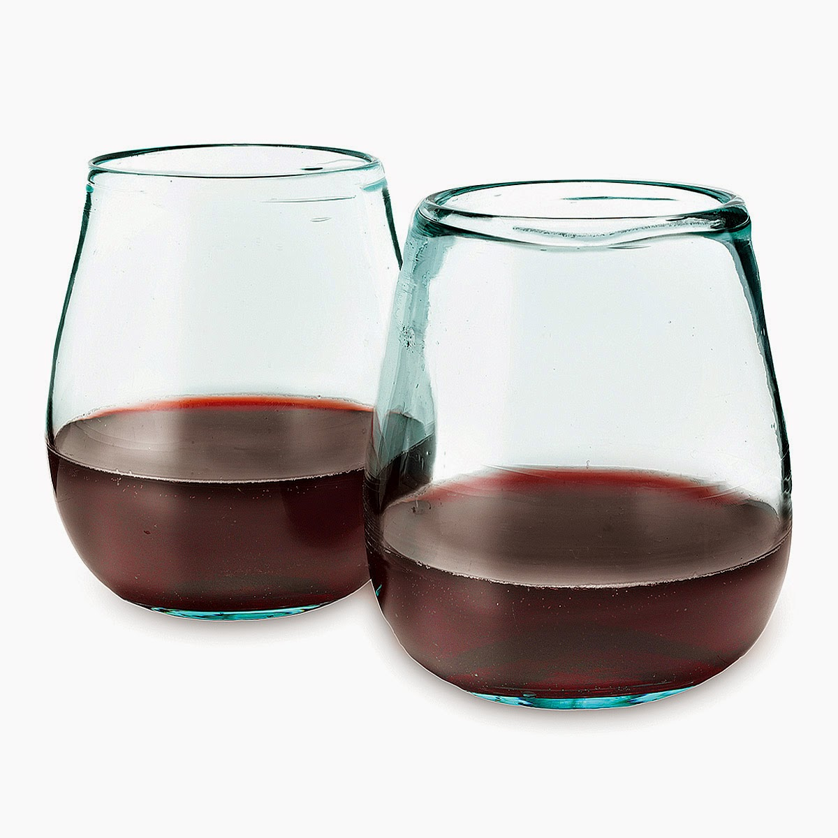 http://www.uncommongoods.com/product/recycled-wine-glasses