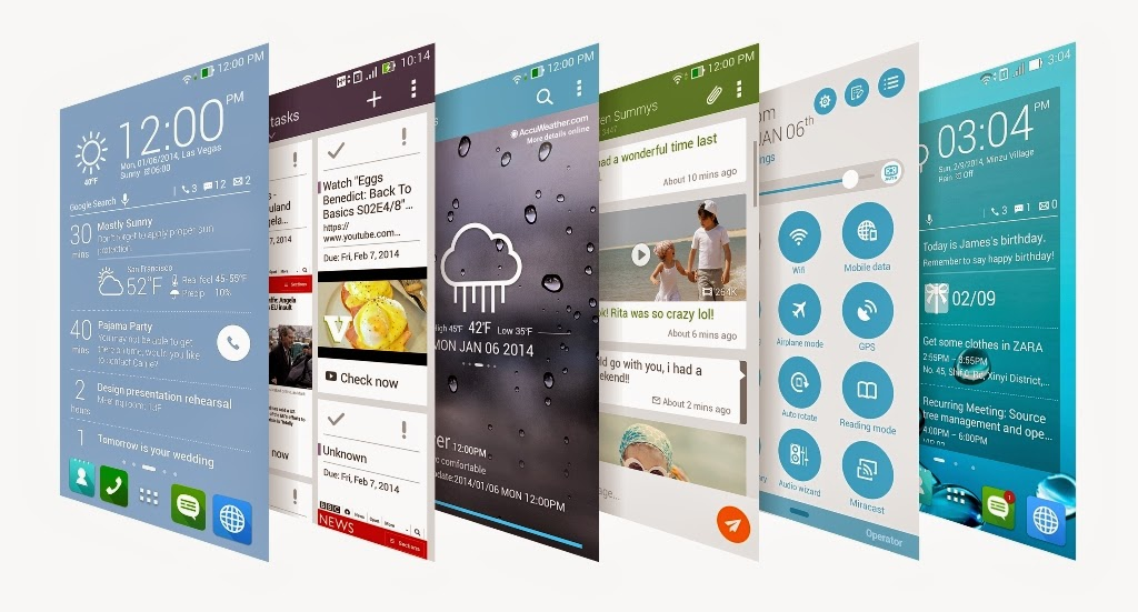 Asus ZenUI ZenFone Smartphone Android Terbaik