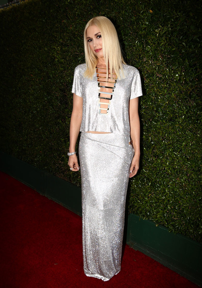 Gwen Stefani in Versace at the Emmy awards