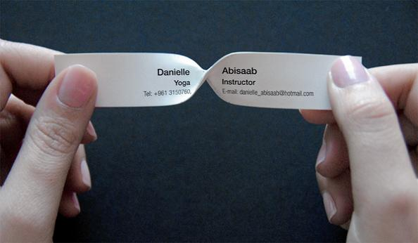15 Clever Business Cards and Cool Business Card Designs - Part 9.