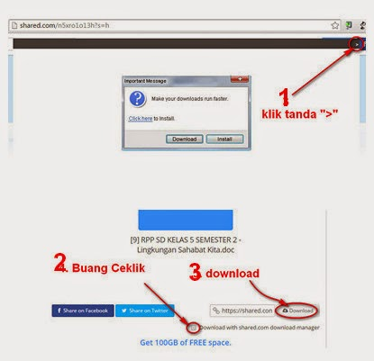 Cara Download dari Shared.com